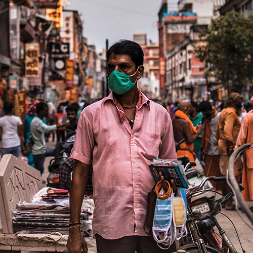 Covid-19 – India*In this unflinching and in-depth analysis, Dr Peter Patel reviews the pandemic management and challenges faced by this diverse and enigmatic country